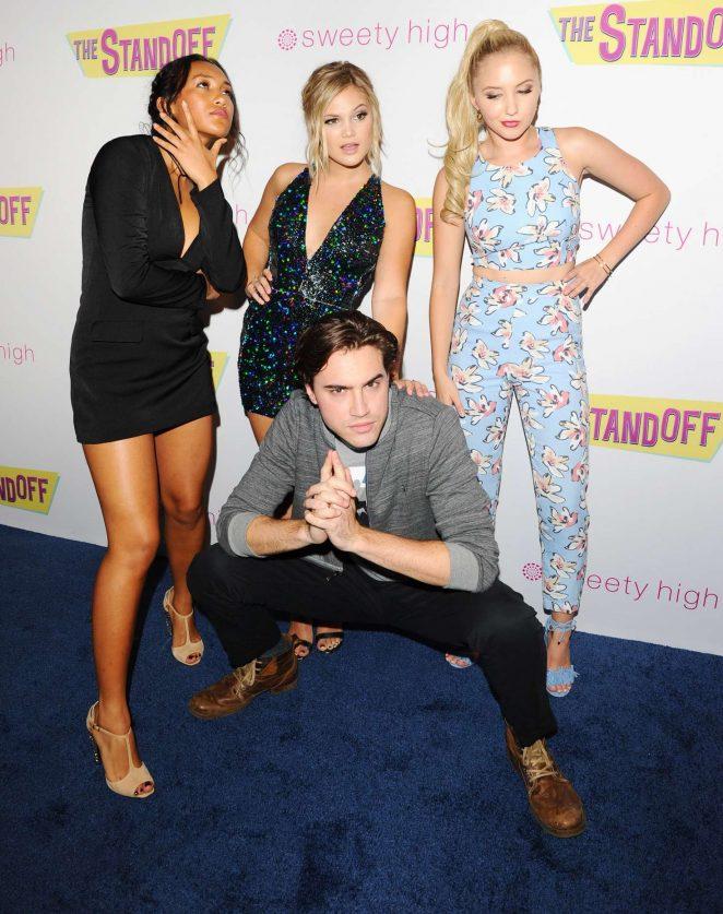 Olivia Holt: The Standoff LA Premiere -31