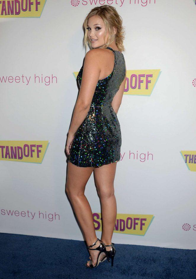 Olivia Holt: The Standoff LA Premiere -45