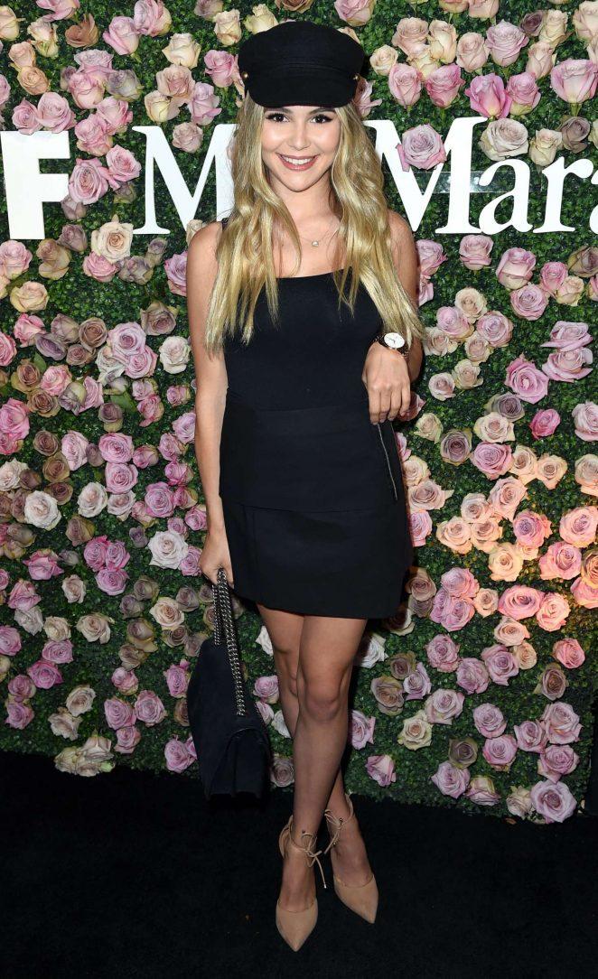 Olivia Jade - 2017 Women In Film Max Mara Face of the Future Awards in LA