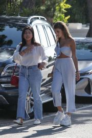 Olivia Jade Giannulli and Isabella Rose Giannulli - Heads to party with friends in Malibu