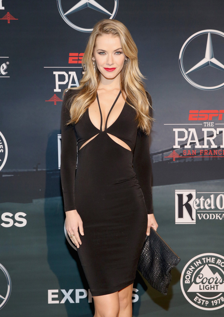 olivia jordan 2016 espn the party for super bowl in san francisco. Black Bedroom Furniture Sets. Home Design Ideas