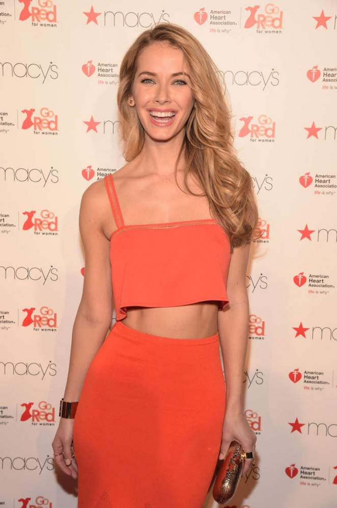Olivia Jordan - The American Heart Association's Go Red For Women Red Dress Collection 2016 in NYC