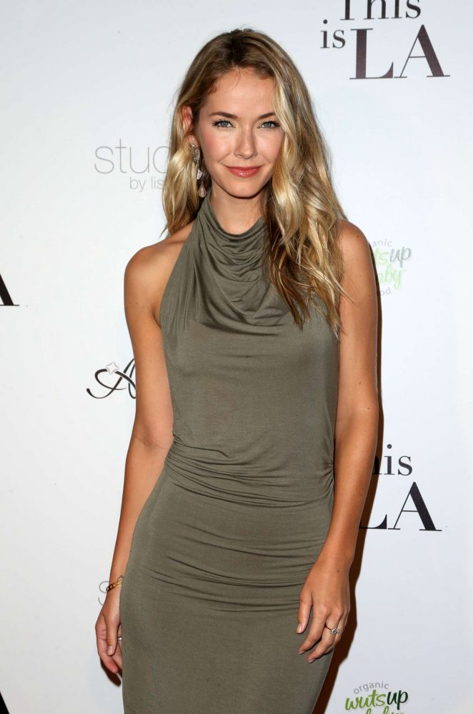 Olivia Jordan - 'This is LA' Premiere Party in Los Angeles