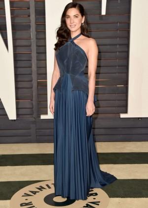 Olivia Munn - 2015 Vanity Fair Oscar Party in Hollywood