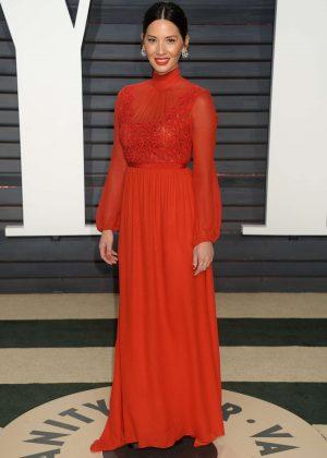 Olivia Munn - 2017 Vanity Fair Oscar Party in Hollywood