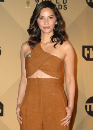 Olivia Munn - 24th Screen Actors Guild Awards Nominations in LA