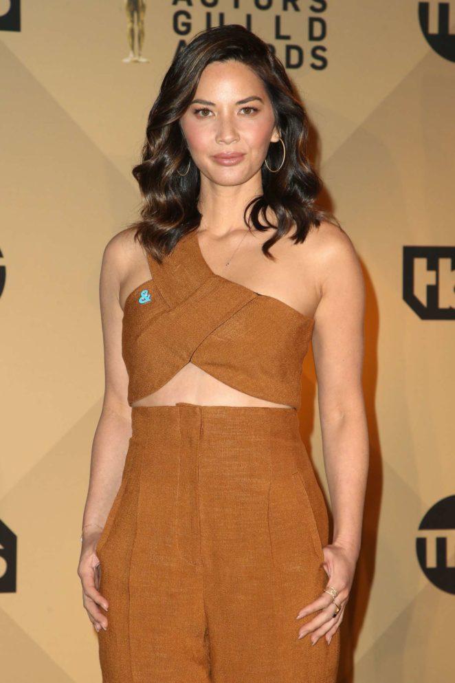Olivia Munn - 24th Screen Actors Guild Awards Nominations in LA