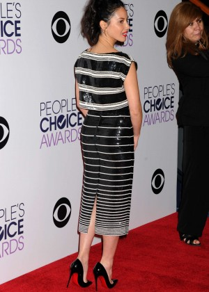 Olivia Munn: 2015 Peoples Choice Awards -02
