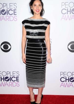 Olivia Munn: 2015 Peoples Choice Awards -05