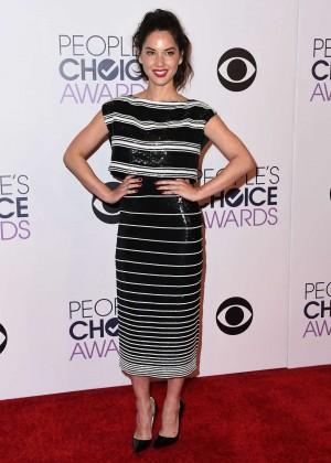 Olivia Munn: 2015 Peoples Choice Awards -06