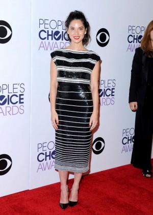 Olivia Munn: 2015 Peoples Choice Awards -08