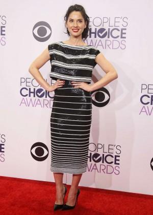Olivia Munn: 2015 Peoples Choice Awards -10