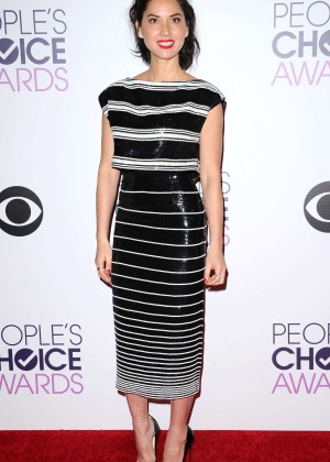 Olivia Munn: 2015 Peoples Choice Awards -12