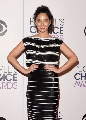 Olivia Munn - 41st Annual People's Choice Awards in LA