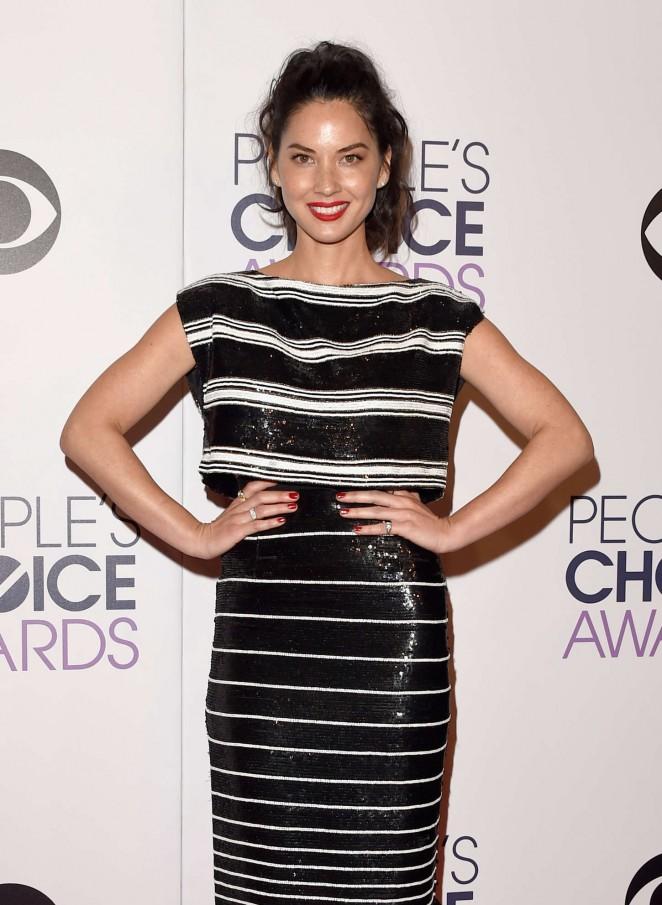 Olivia Munn – 41st Annual People's Choice Awards in LA
