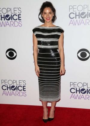 Olivia Munn: 2015 Peoples Choice Awards -20