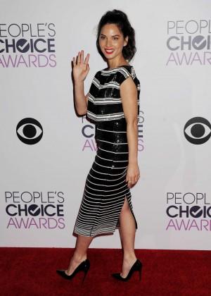 Olivia Munn: 2015 Peoples Choice Awards -23