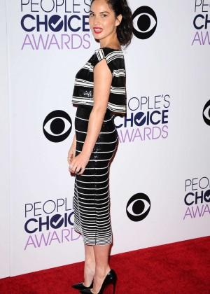 Olivia Munn: 2015 Peoples Choice Awards -26