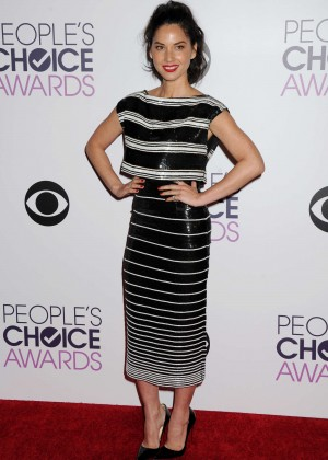 Olivia Munn: 2015 Peoples Choice Awards -27