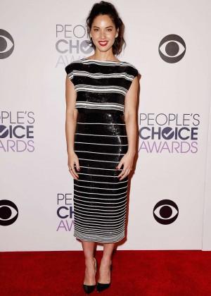 Olivia Munn: 2015 Peoples Choice Awards -28