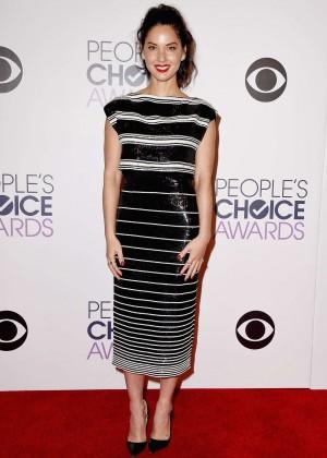 Olivia Munn: 2015 Peoples Choice Awards -29