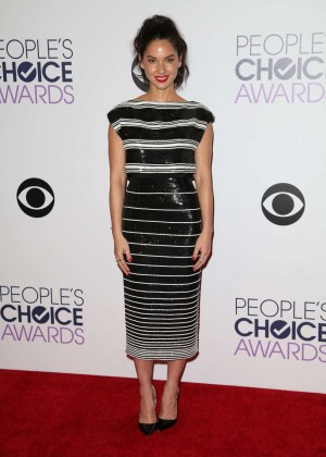 Olivia Munn: 2015 Peoples Choice Awards -34