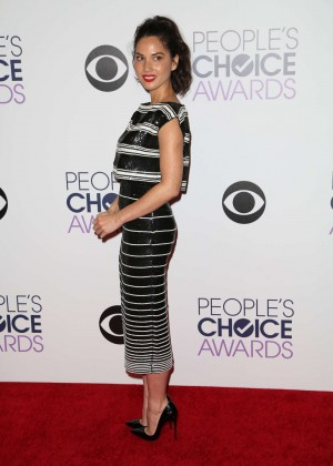 Olivia Munn: 2015 Peoples Choice Awards -37