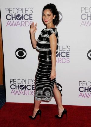 Olivia Munn: 2015 Peoples Choice Awards -41