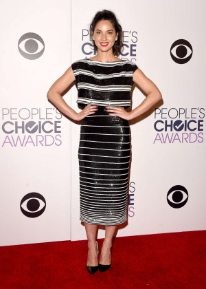 Olivia Munn: 2015 Peoples Choice Awards -43