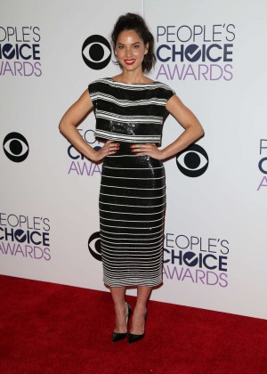 Olivia Munn: 2015 Peoples Choice Awards -44