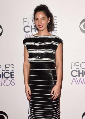 Olivia Munn: 2015 Peoples Choice Awards -46
