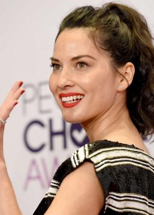 Olivia Munn: 2015 Peoples Choice Awards -49