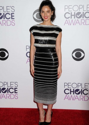 Olivia Munn: 2015 Peoples Choice Awards -52