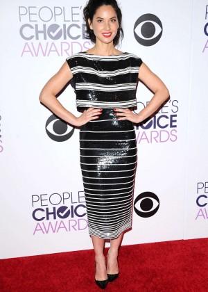 Olivia Munn: 2015 Peoples Choice Awards -53
