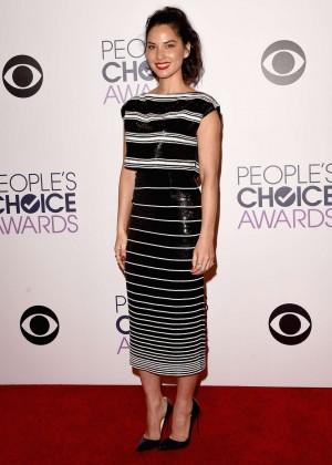 Olivia Munn: 2015 Peoples Choice Awards -56