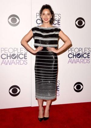 Olivia Munn: 2015 Peoples Choice Awards -58