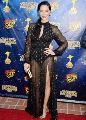 Olivia Munn - 2016 Saturn Awards in Burbank