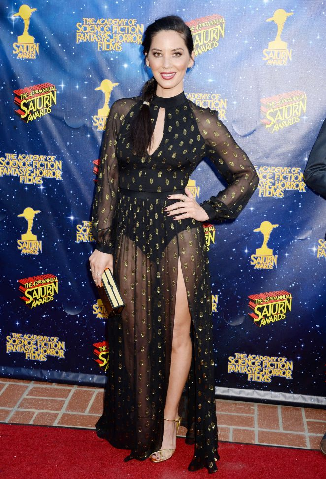 Olivia Munn - 2016 Saturn Awards in Burbank