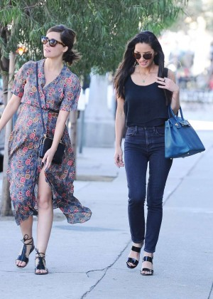Olivia Munn and Rose Byrne Out in Hollywood