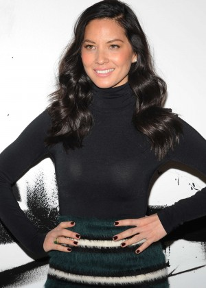 Olivia Munn - AOL's BUILD Series in NYC
