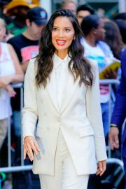 Olivia Munn - Arrives at Good Morning America in NYC