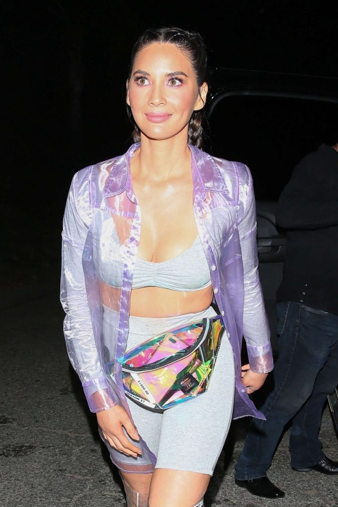 Olivia Munn - Arrives at Kate Hudson's Halloween Party in West Hollywood