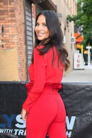 Olivia Munn - Arrives at The Daily Show with Trevor Noah in NYC