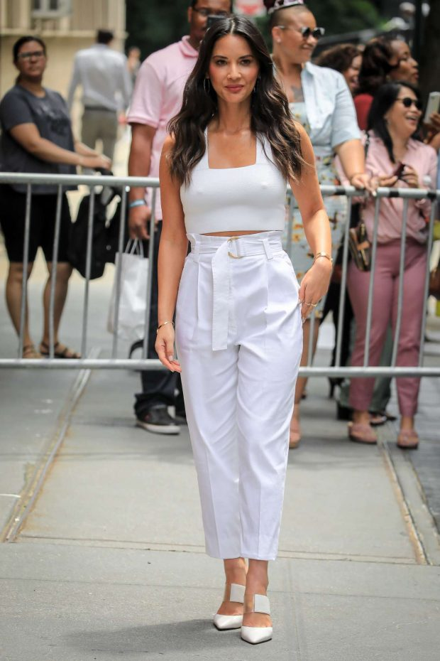 Olivia Munn - Arrives at 'The View' TV Show in New York