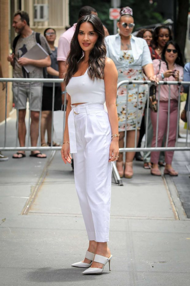 Olivia Munn: Arrives at The View TV Show-08