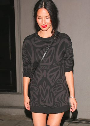 Olivia Munn at Craig's Restaurant in West Hollywood