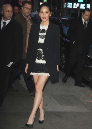 Olivia Munn at Good Morning America Promoting 'Ride Along 2' in NYC