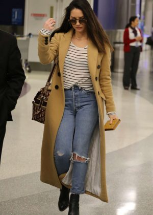 Olivia Munn at LAX Airport in Los Angeles