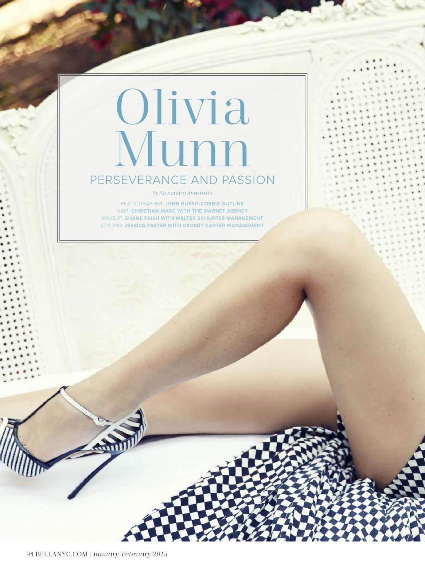 Olivia Munn 2015 : Olivia Munn: BELLA Magazine 2015 -07