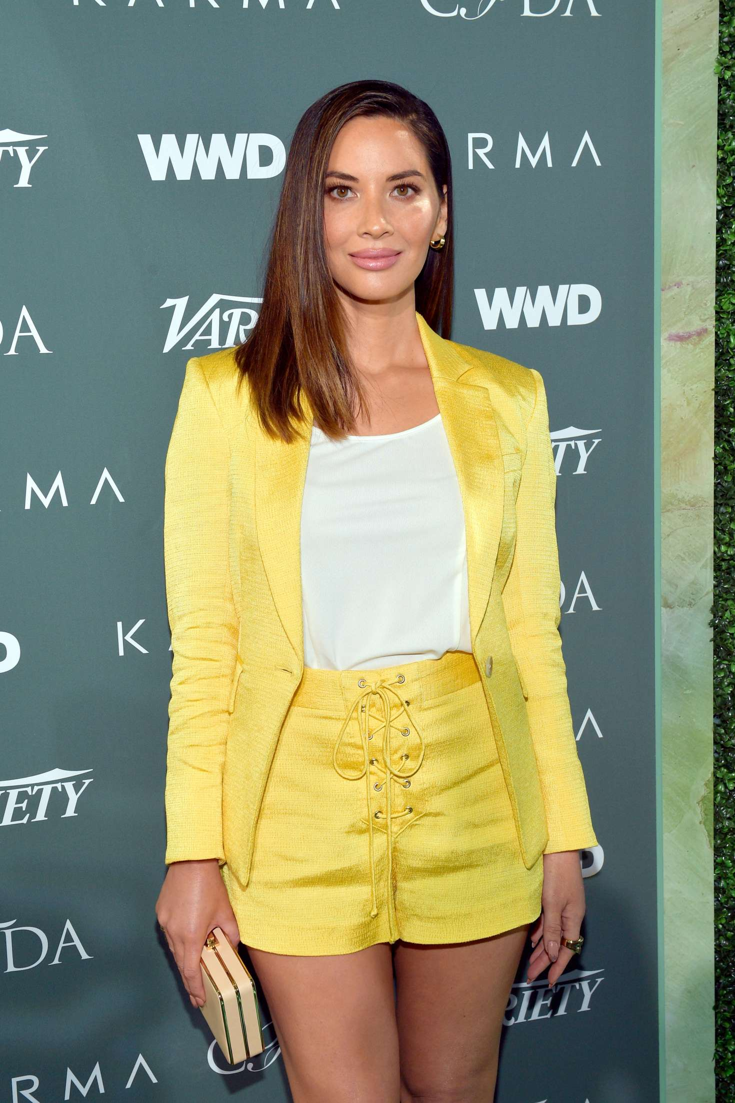 Olivia Munn - CFDA Variety and WWD Runway to Red Carpet in LA